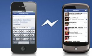 Facebook Messenger App. for iPhone and Android.