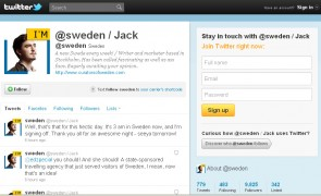Swedish Citizens Now Control @sweden Twitter Account