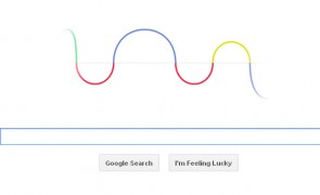 Google Doodle for Heinrich Rudolf Hertz's 155th birthday