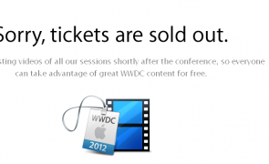 Apple's WWDC 2012 Tickets sold out in 2 hours