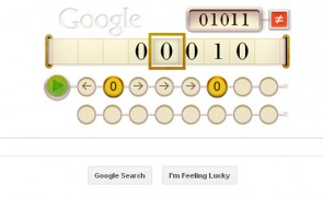 Alan Turing's 100th Birthday Google Doodle