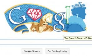 Queen's Diamond Jubilee Doodle by Google