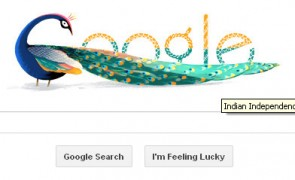 Google Doodle to celebrate the Independence Day of India