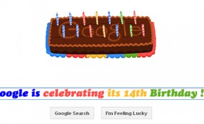 google 14th birthday doodle