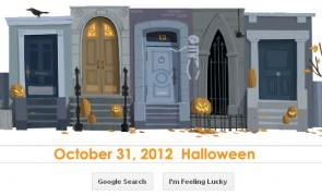 Happy Halloween! Google Doodle
