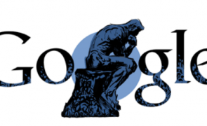 Google Shows Doodle for Auguste Rodin,  a French sculptor.