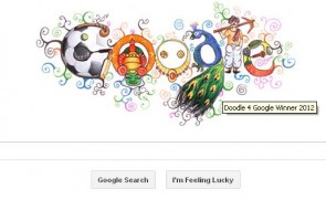 doodle 4 google india 2012 winner Arun Kumar Yadav_childrens day