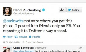 The Facebook Privacy Setting That Tripped Up Facebook founder's sister Randi Zuckerberg