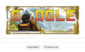 Google celebrates India's first passenger train journey with Doodle