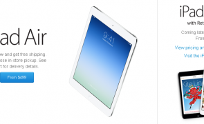 ipad air - apple store