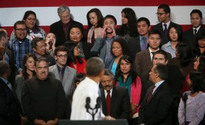 Obama's immigration speech interrupted by anti-deportation Activists