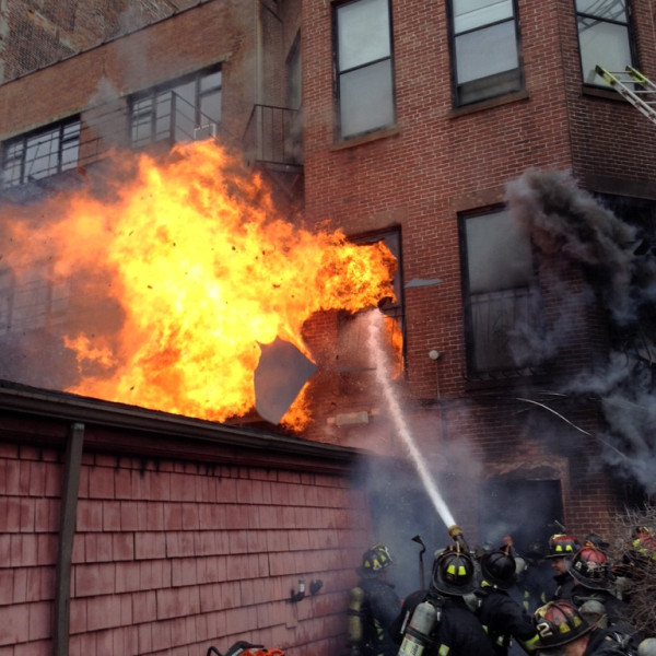 2 Firefighters Killed In Huge Boston Fire.