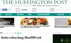 Huffington Post launches in India