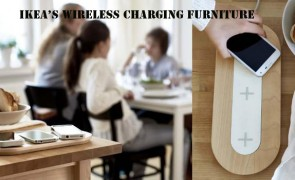 IKEA's wireless charging furniture