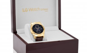 """LG announces gold plated """"Urbane Luxe"""" smartwatch"""