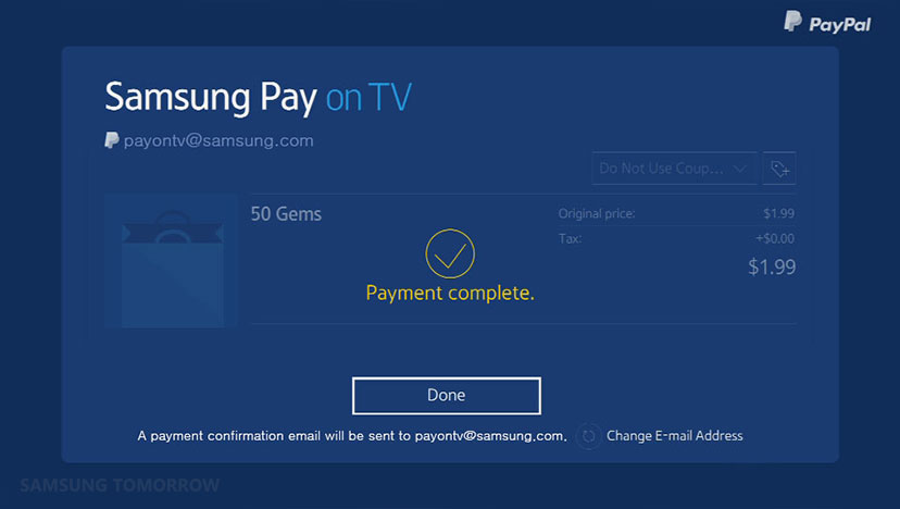 Samsung introduces a new smart TV payment service – RtoZ Org