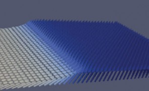 This image taken from a computer simulation
