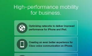 Apple and Cisco partner to deliver fast lane for iOS enterprise users