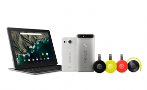 Google unveils Nexus 5X, Nexus 6P, Chromecast and Pixel C