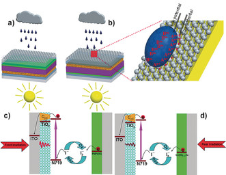 Graphene-coated solar panel generates Electricity from Rain Drops