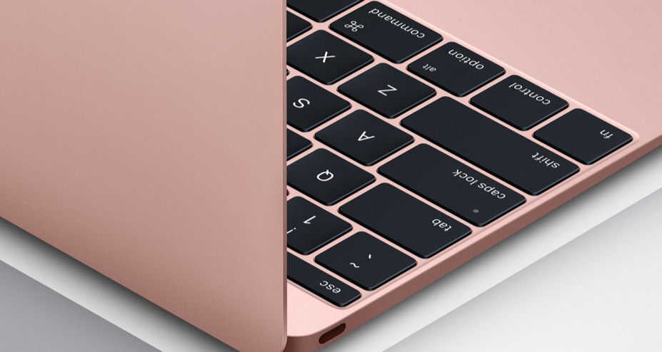 Apple Launches MacBook 2016 with Latest Processors, Longer Battery Life & New Rose Gold Finish