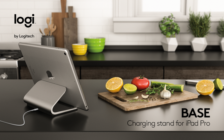 Logi BASE: Logitech releases Logi BASE charging stand for iPad Pro