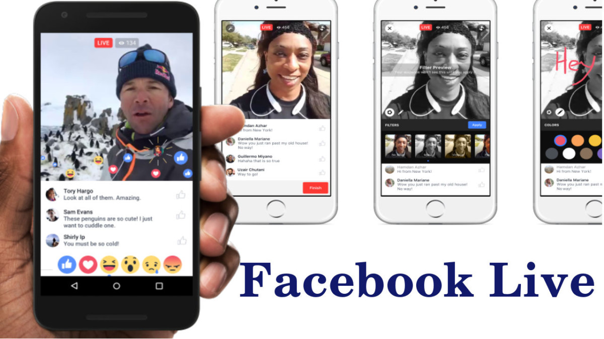 "Facebook updates ""Facebook Live"" with many New Features (e.g Live Reactions), and adds Dedicated Tab on Mobile App."