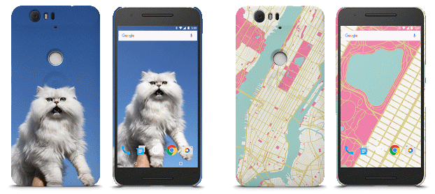 Google Live Cases: Google introduces customizable Cases for Nexus phones