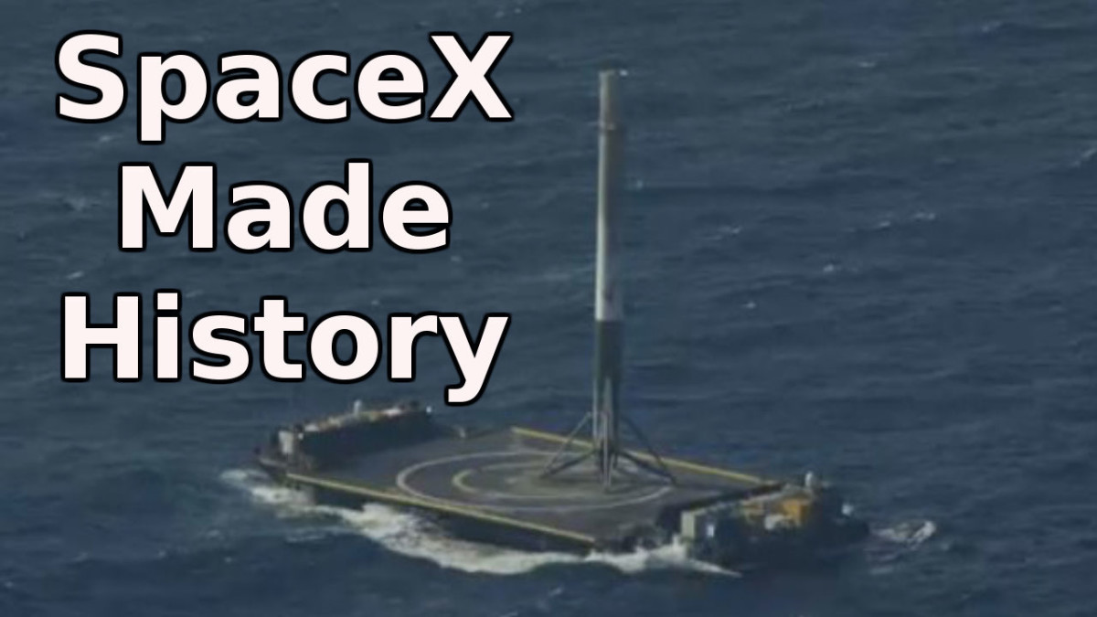 SpaceX Made History by landing its Falcon 9 Rocket on a Floating Drone Ship for the First Time