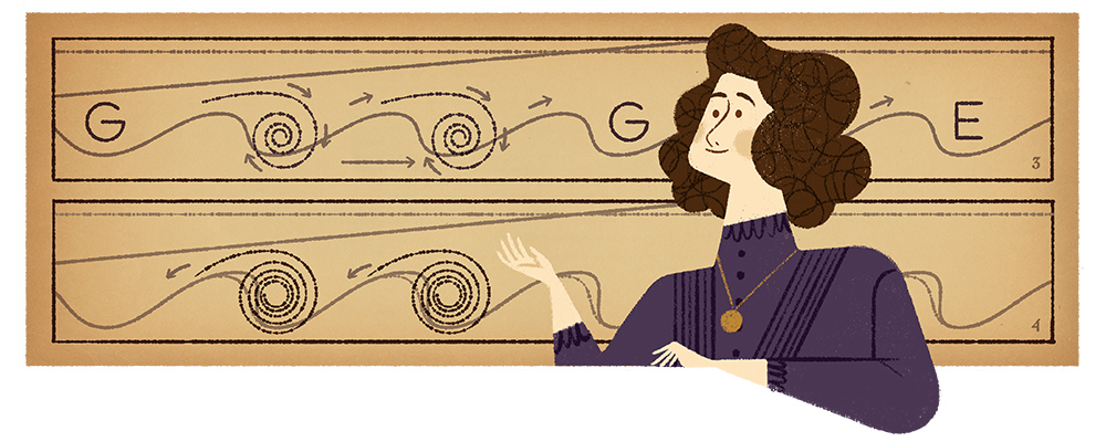 Google Doodle celebrates Hertha Marks Ayrton's 162nd birthday