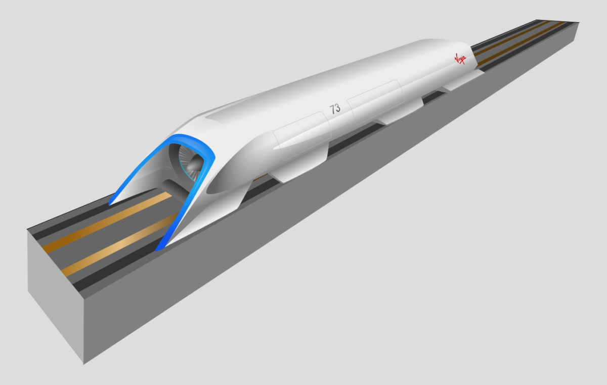 Hyperloop One did Propulsion Open Air Test for the Super Speed Transportation System