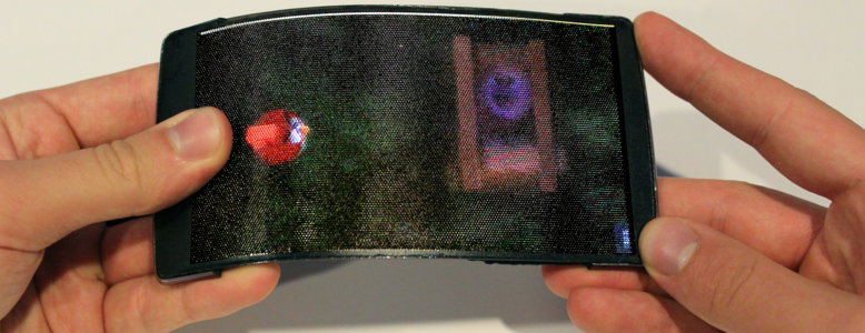 HoloFlex: World's First Holographic Flexible Smartphone