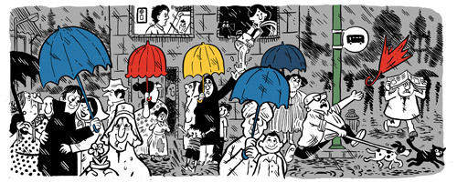 Google Doodle celebrates cartoonist Mario Miranda's 90th birth anniversary