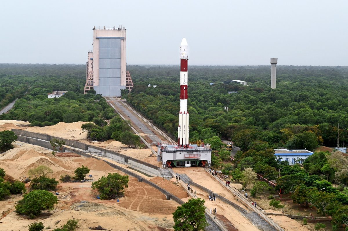 India's PSLV-C34 Successfully Launches 20 Satellites in a Single Flight