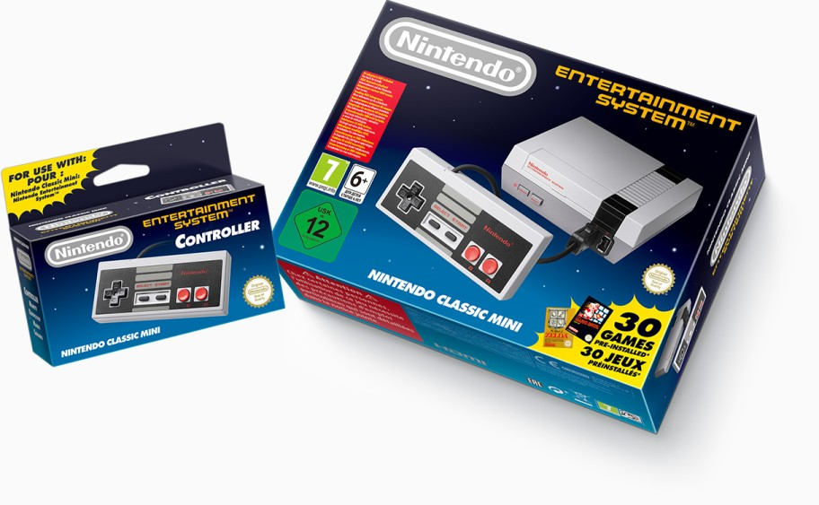 Nintendo Classic Mini: Nintendo Entertainment System launches again with 30 classic NES games