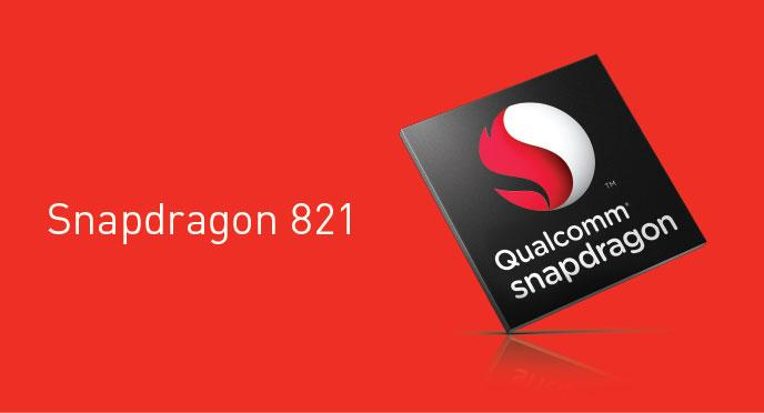 Qualcomm announces Snapdragon 821 with 2.4GHz Kryo. Snapdragon 821 is 10% Faster than 820