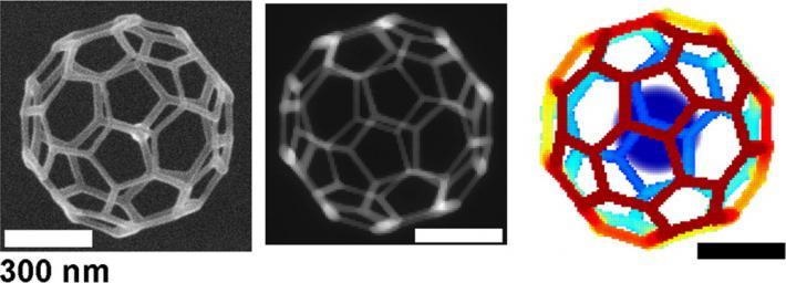 Researchers combine simulation, experiment for nanoscale 3-D printing