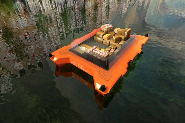 Roboats – MIT to Test Self-driving Boats in Amsterdam