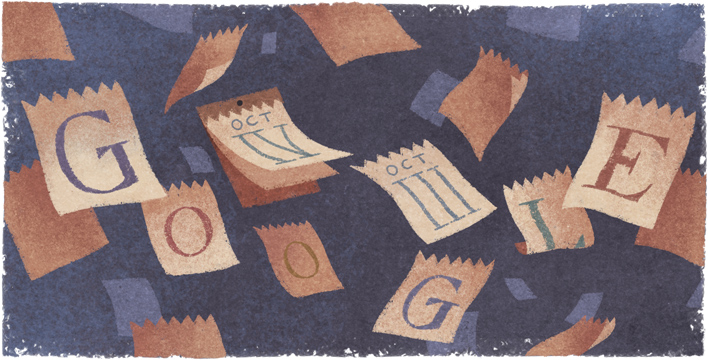 Gregorian Calendar Google Doodle