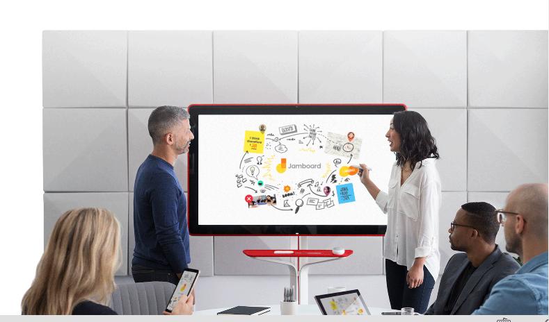 Jamboard is Google's new 4K Digital Whiteboard