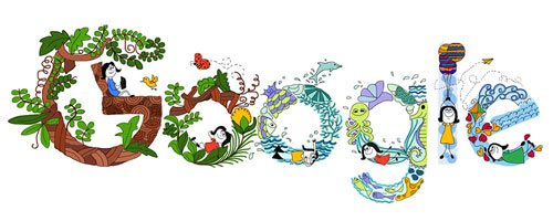 Children's Day in India – Google shows the Winning Doodle of Doodle 4 Google 2016 Competition
