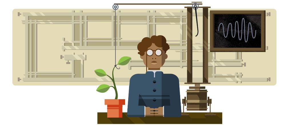 Jagadish Chandra Bose Google Doodle
