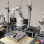 Robots learn Grasping by sharing their hand-eye coordination experience with each other