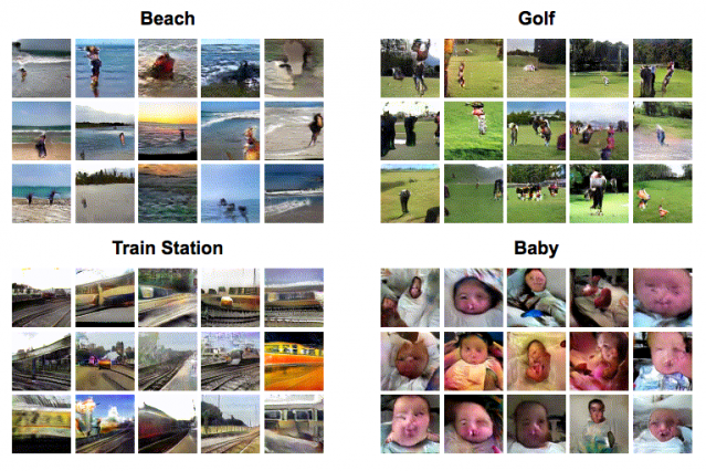 MIT's Deep-learning system generates Videos that predict what will happen next in a scene