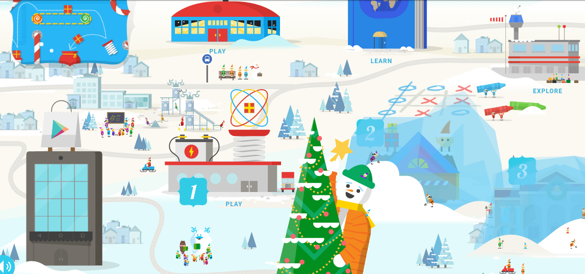 "Google's Santa Tracker 2016 gets a Pokemon Go-like game ""Present Quest"""
