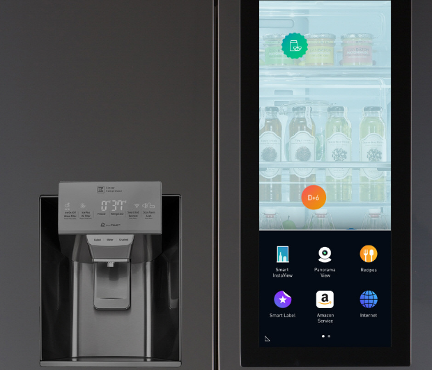LG unveils Smart InstaView Refrigerator powered by webOS and Amazon's Alexa