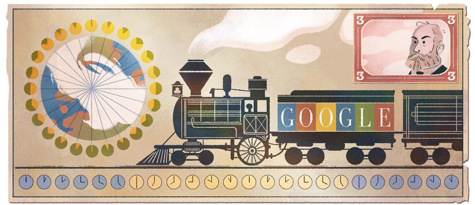 Sandford Fleming Google Doodle