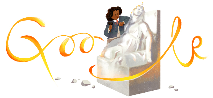 Google Celebrates Sculptor Edmonia Lewis with special Doodle