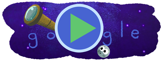 Exoplanet discovery Google Doodle