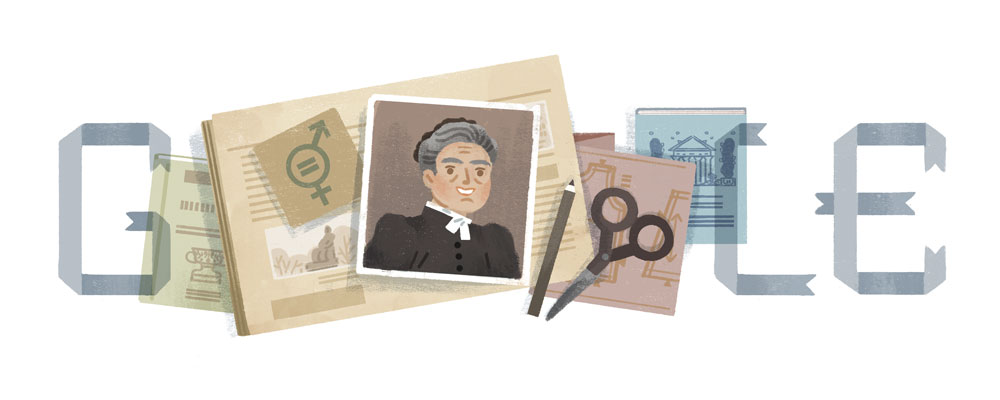 Minna Canth Google Doodle